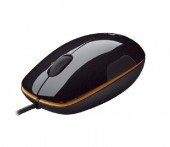 Мышь Logitech LS1 grape-jaffa flesh Laser USB